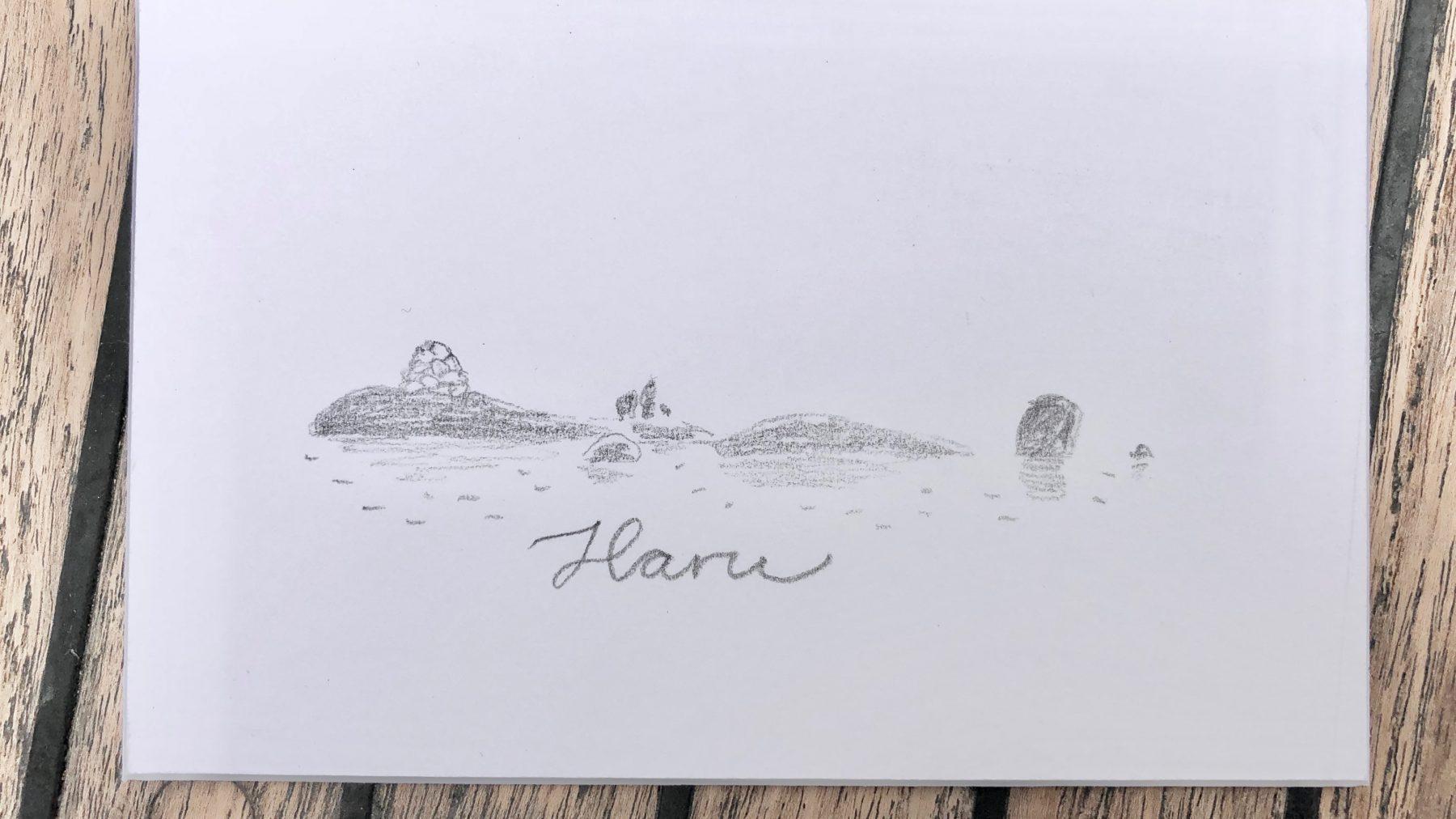 Kuvituksia saarista #2