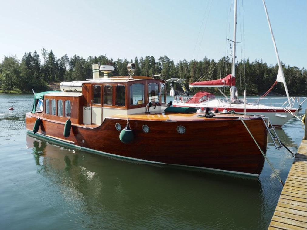 Saariston kaunein Unelma – salonkivene vailla vertaa
