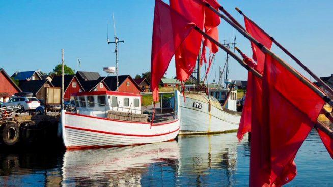 Aherrusta telakalla ja muistoja Gotlannista